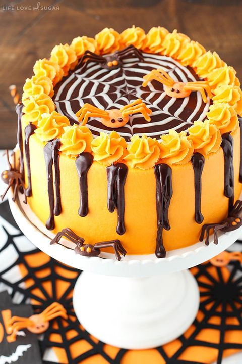 Halloween Decorating Cakes  70 Easy Halloween Cakes Halloween Cake Recipes and