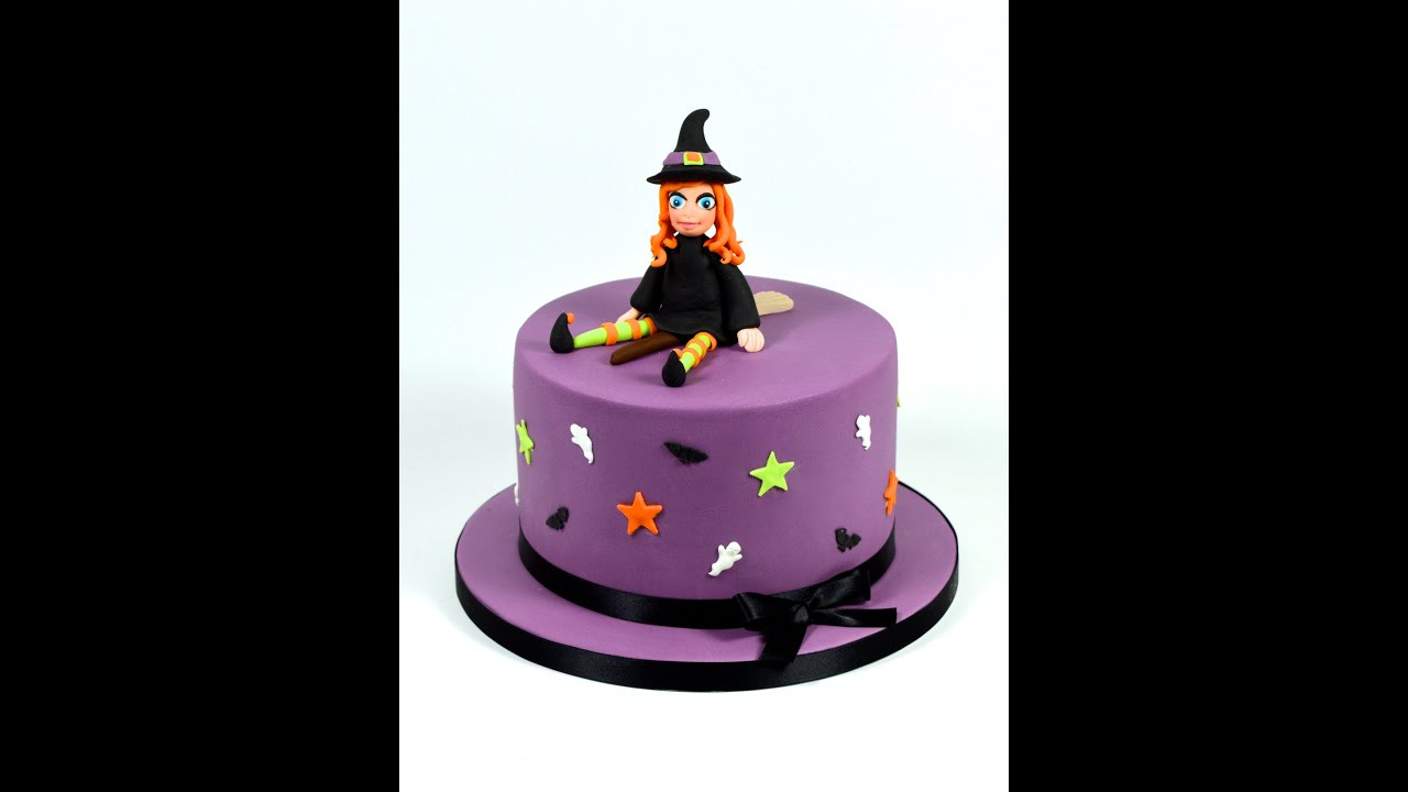 Halloween Decorating Cakes  How to Make a Halloween Witch Novelty Cake Decorating