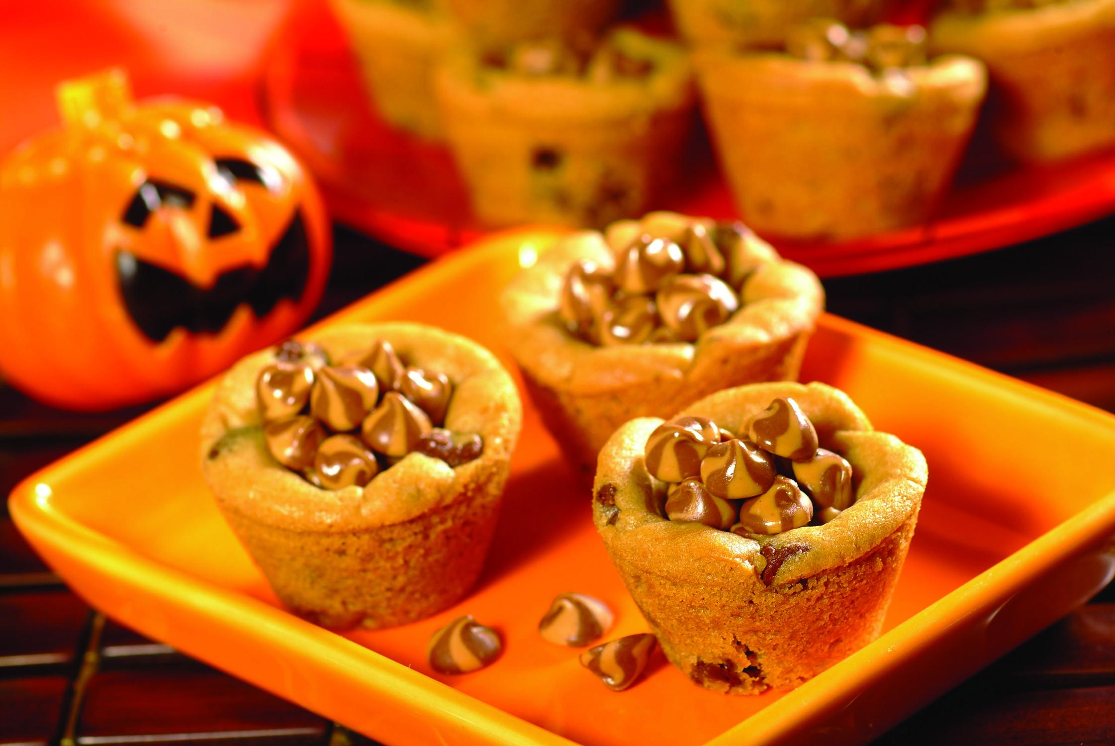 Halloween Desserts Recipes  halloween cookie cup recipe