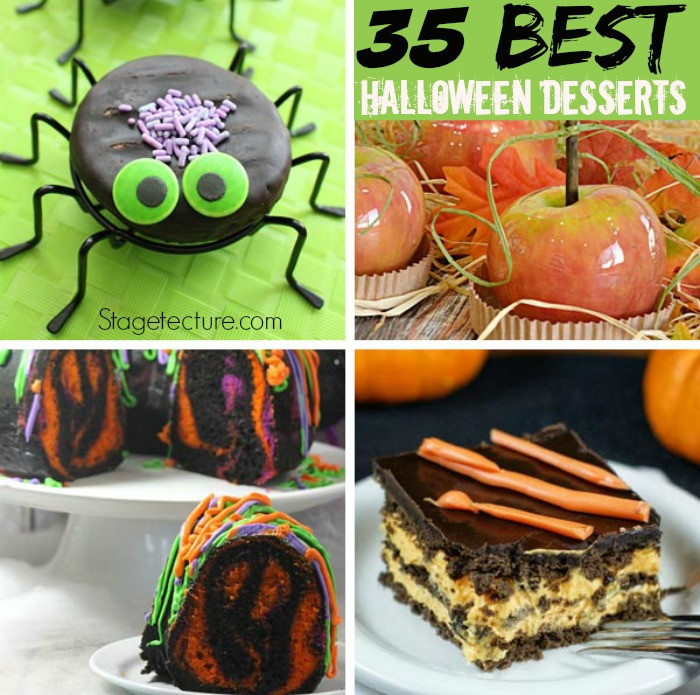 Halloween Desserts Recipes  35 of Our Best Halloween Desserts Recipes