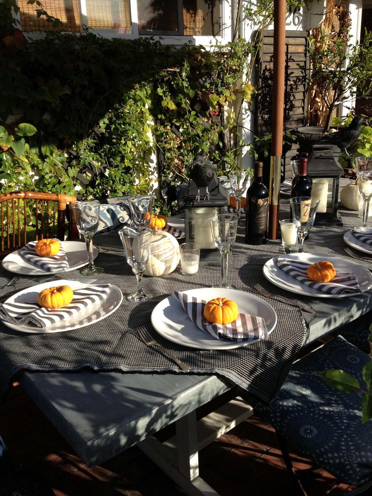Halloween Dinner Party  The Willows Home & Garden halloween dinner party
