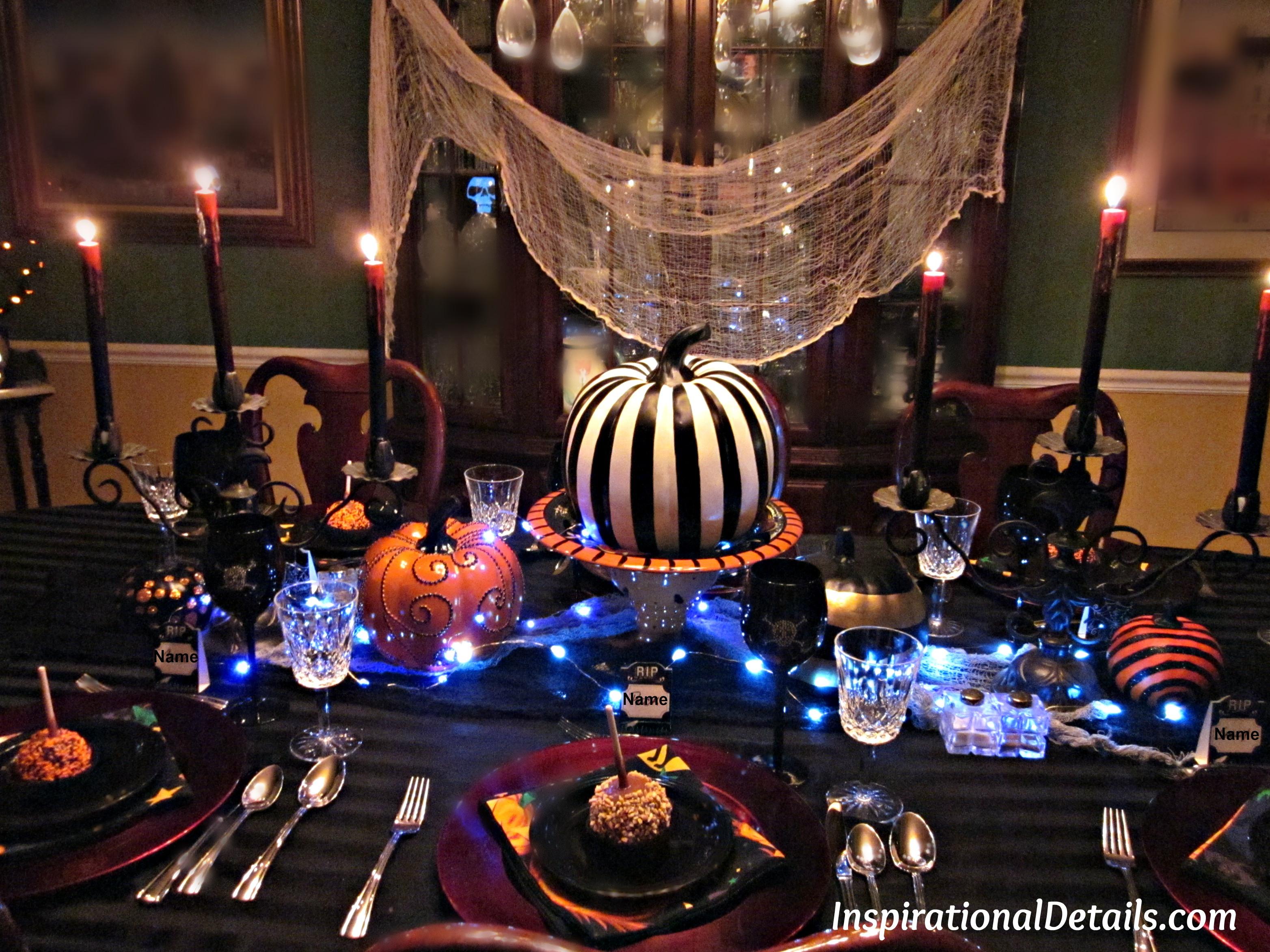 Halloween Dinner Party  Halloween Dinner Party A Spooky Gourmet Group Affair