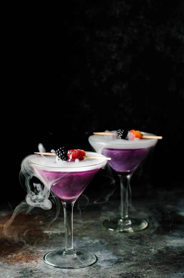 Halloween Drinks Alcoholic  The Witch s Heart Halloween Cocktail The Flavor Bender