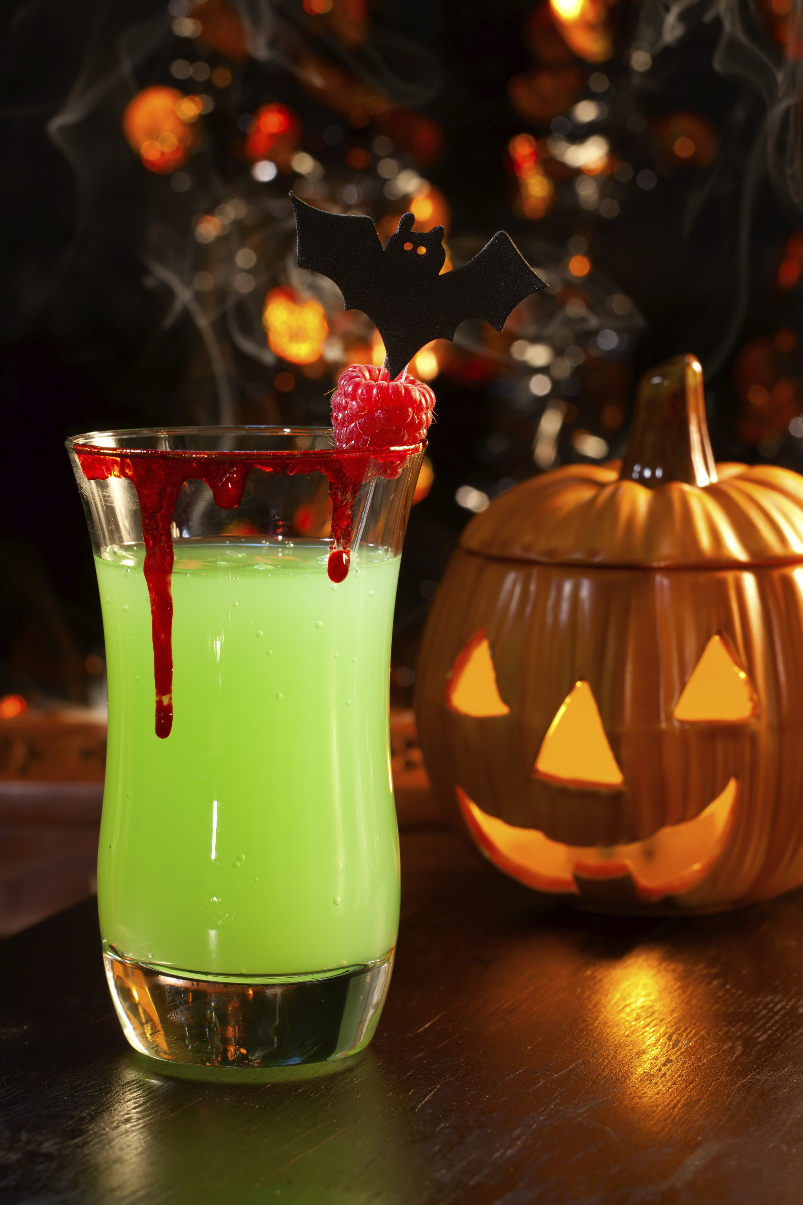 Halloween Drinks Alcoholic  3 Terror ific Halloween Party Treats A Pinch of This a