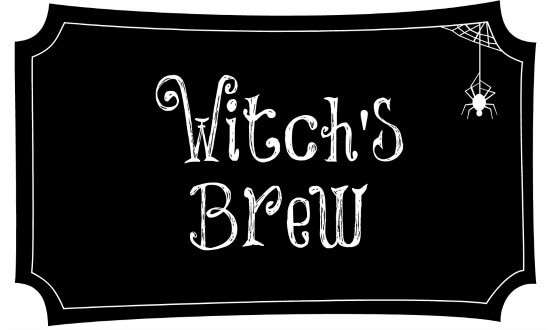 Halloween Drinks Labels  Free Halloween Printables Perfect for a Party Merry