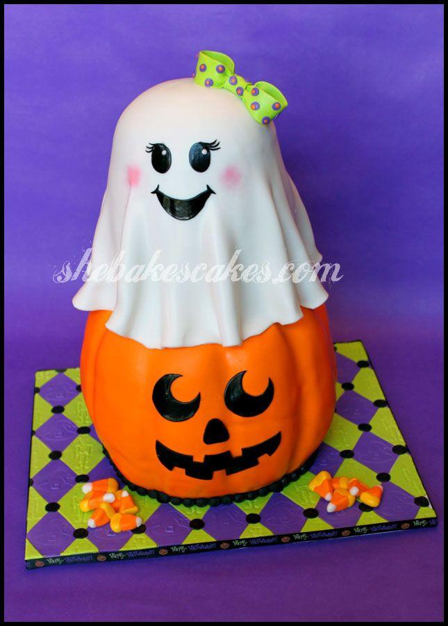 Halloween Fondant Cakes  317 best Halloween Cakes images on Pinterest