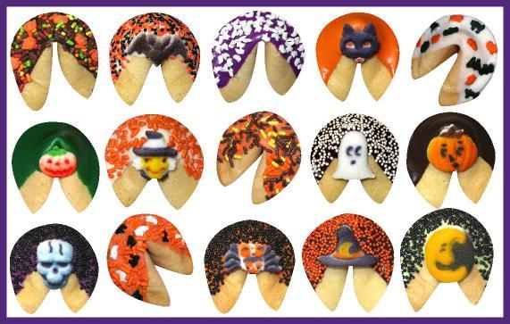 Halloween Fortune Cookies  HALLOWEEN FORTUNE COOKIE BULK