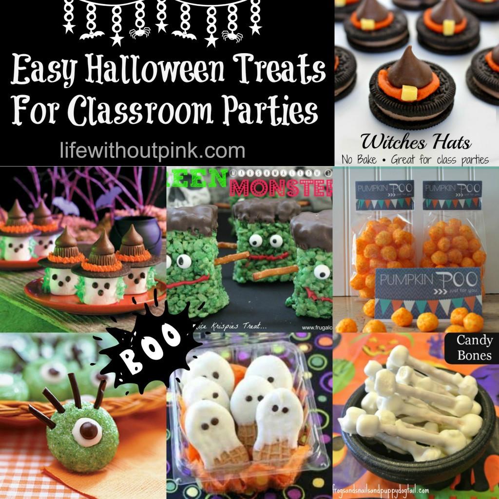 Halloween Healthy Snacks For Classroom  Friday Fresh Picks Easy Halloween Treats for Classroom
