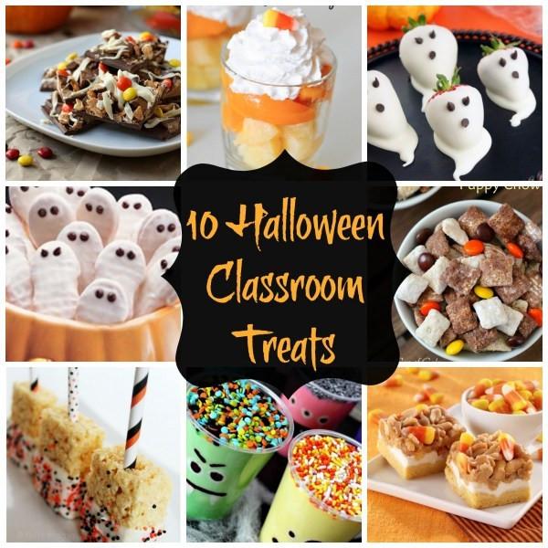 Halloween Healthy Snacks For Classroom  10 Healthy Halloween Treats For The Classroom – Edible Crafts