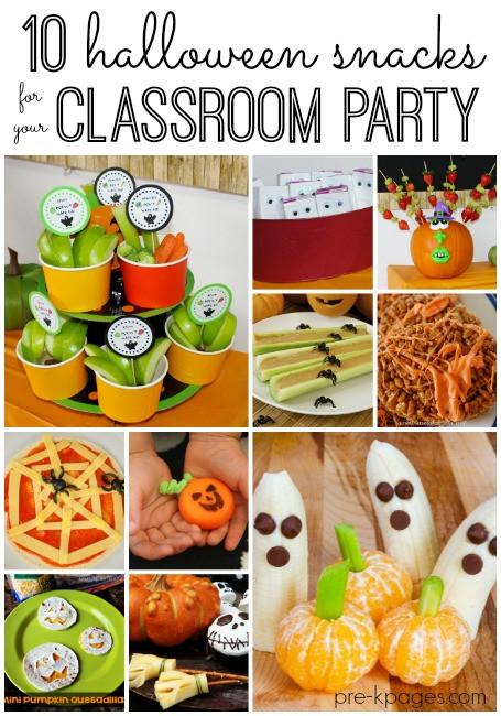 Halloween Healthy Snacks For Classroom  Classroom Halloween Party Snacks