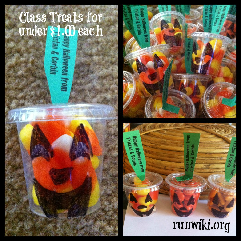 Halloween Healthy Snacks For Classroom  Classroom Halloween Treats for under $1 00 each