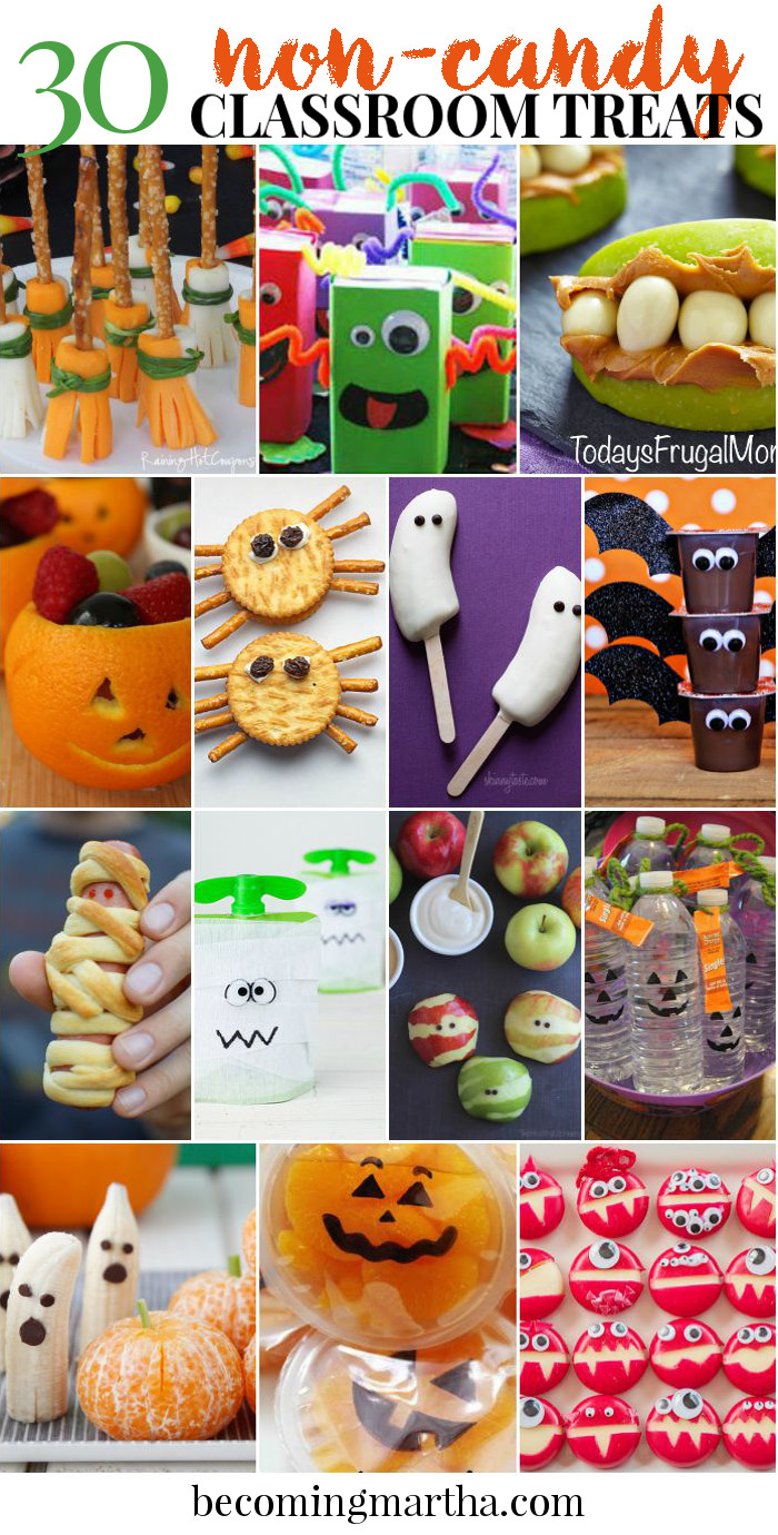 Halloween Healthy Snacks For Classroom  30 Non Candy Classroom Halloween Treats The Simply