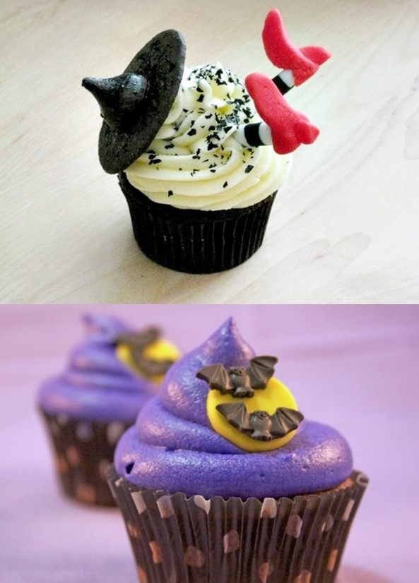 Halloween Inspired Cupcakes  Pop Culture And Fashion Magic Easy Halloween food ideas