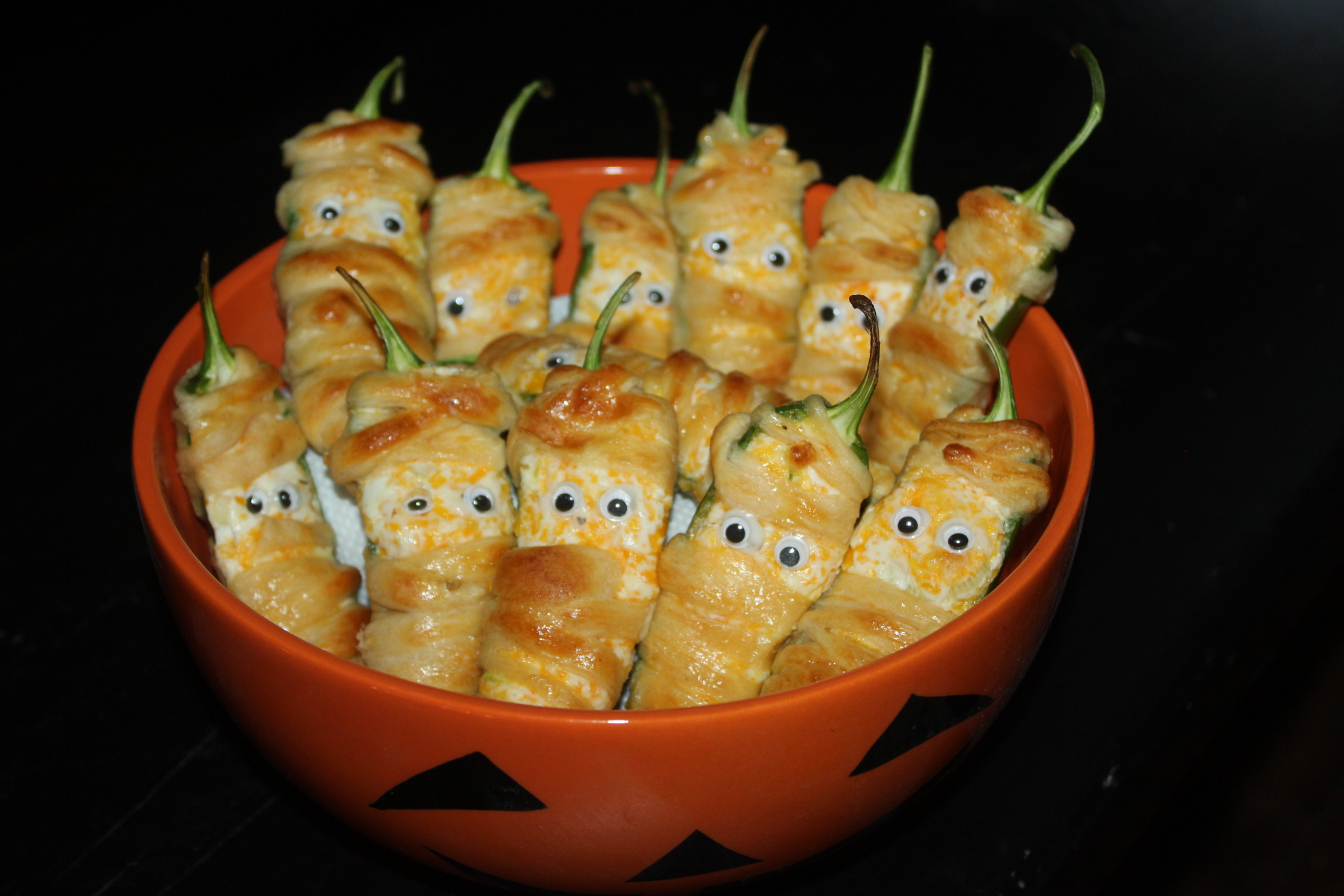 Halloween Jalapeno Poppers  Jalapeno Mummy Poppers – A Fun Twist The Traditional