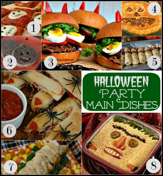 Halloween Main Dishes Recipes  13 Quick and Easy Recipes for Trick or Treat Night Dinner