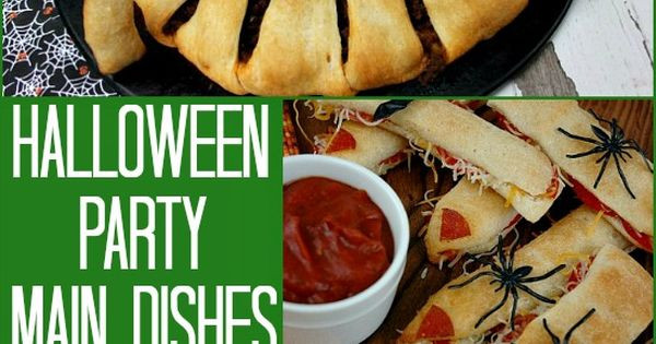 Halloween Main Dishes Recipes  Halloween Party Main Dishes on PocketChangeGourmet
