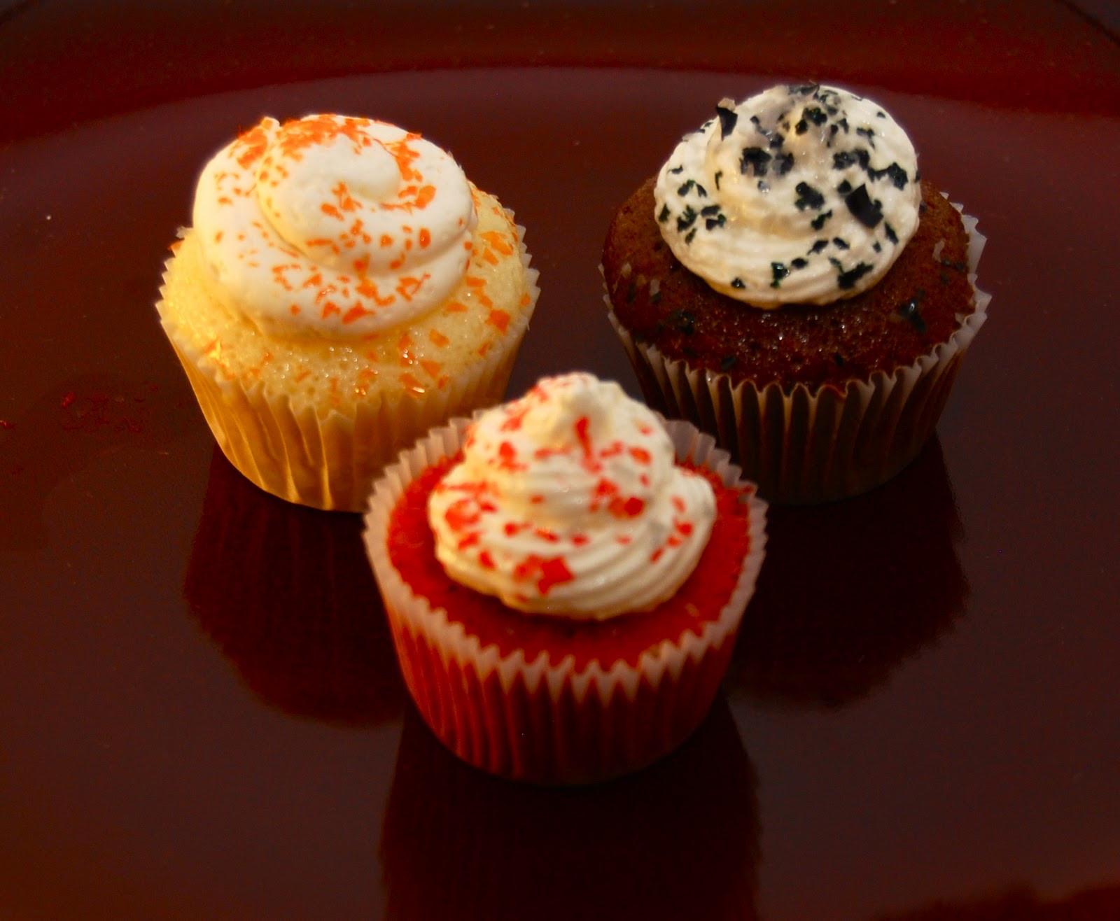 Halloween Mini Cupcakes  Pastries by Joanna Elegant Halloween Mini Cupcakes