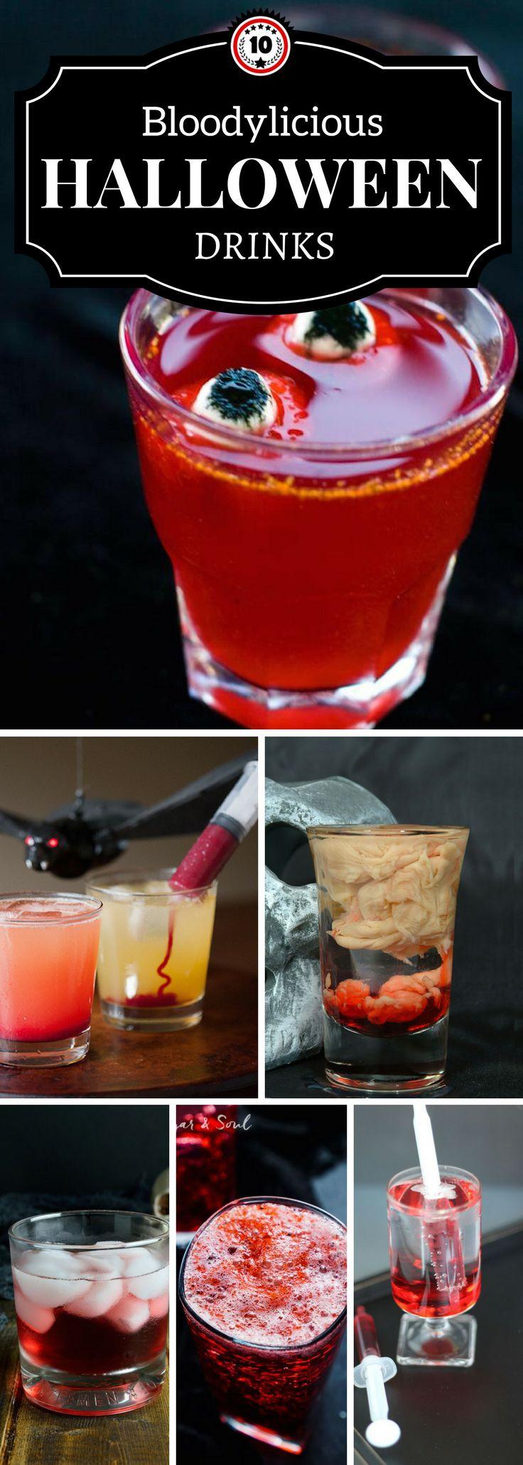 Halloween Mix Drinks  Best 25 Halloween drinks ideas on Pinterest