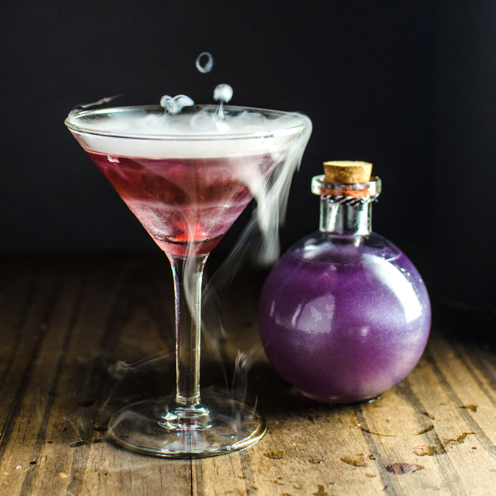 Halloween Mix Drinks  These Creepy Halloween Drinks Will Have You Saying 'Booyah
