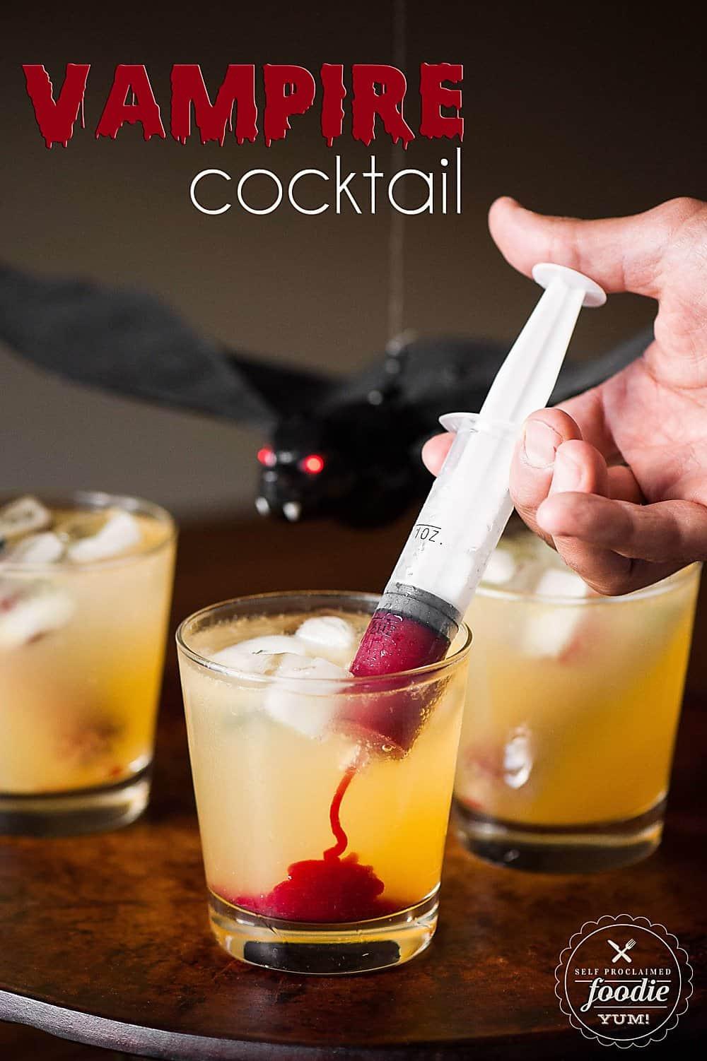 Halloween Mix Drinks  Halloween Vampire Cocktail