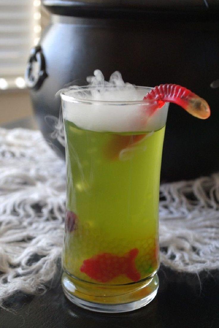 Halloween Mix Drinks  1000 ideas about Halloween Drinks on Pinterest