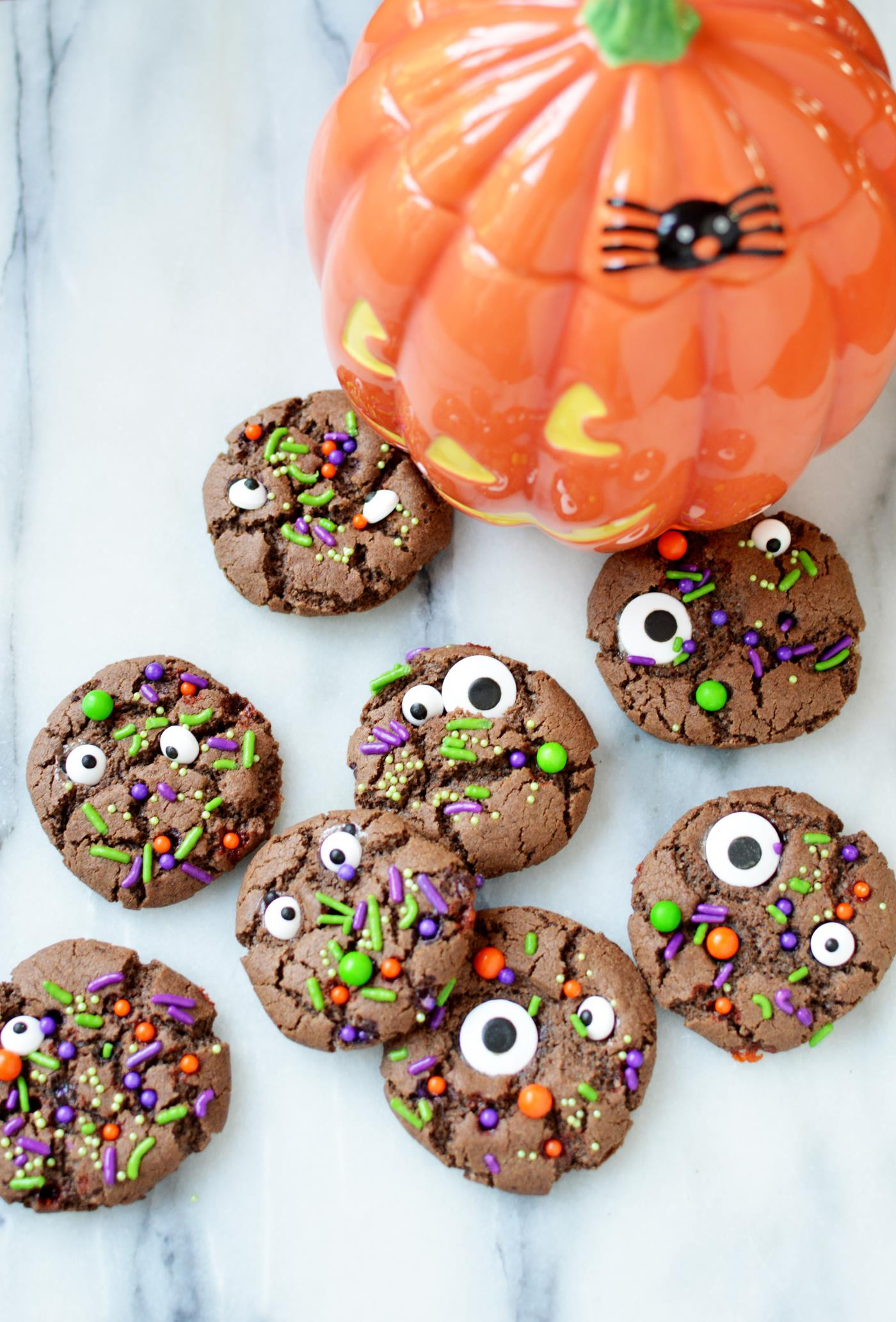 Halloween Monster Cookies  Make These Adorable Halloween Monster Cookies From Scratch