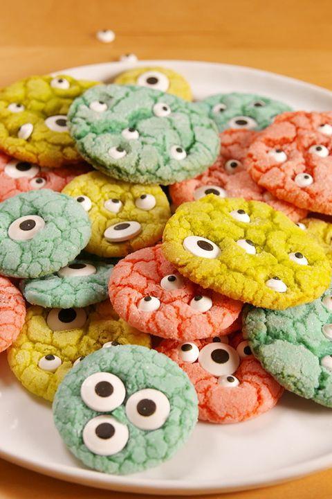 Halloween Monster Cookies  15 Easy Halloween Cookies Easy Recipes & Ideas for