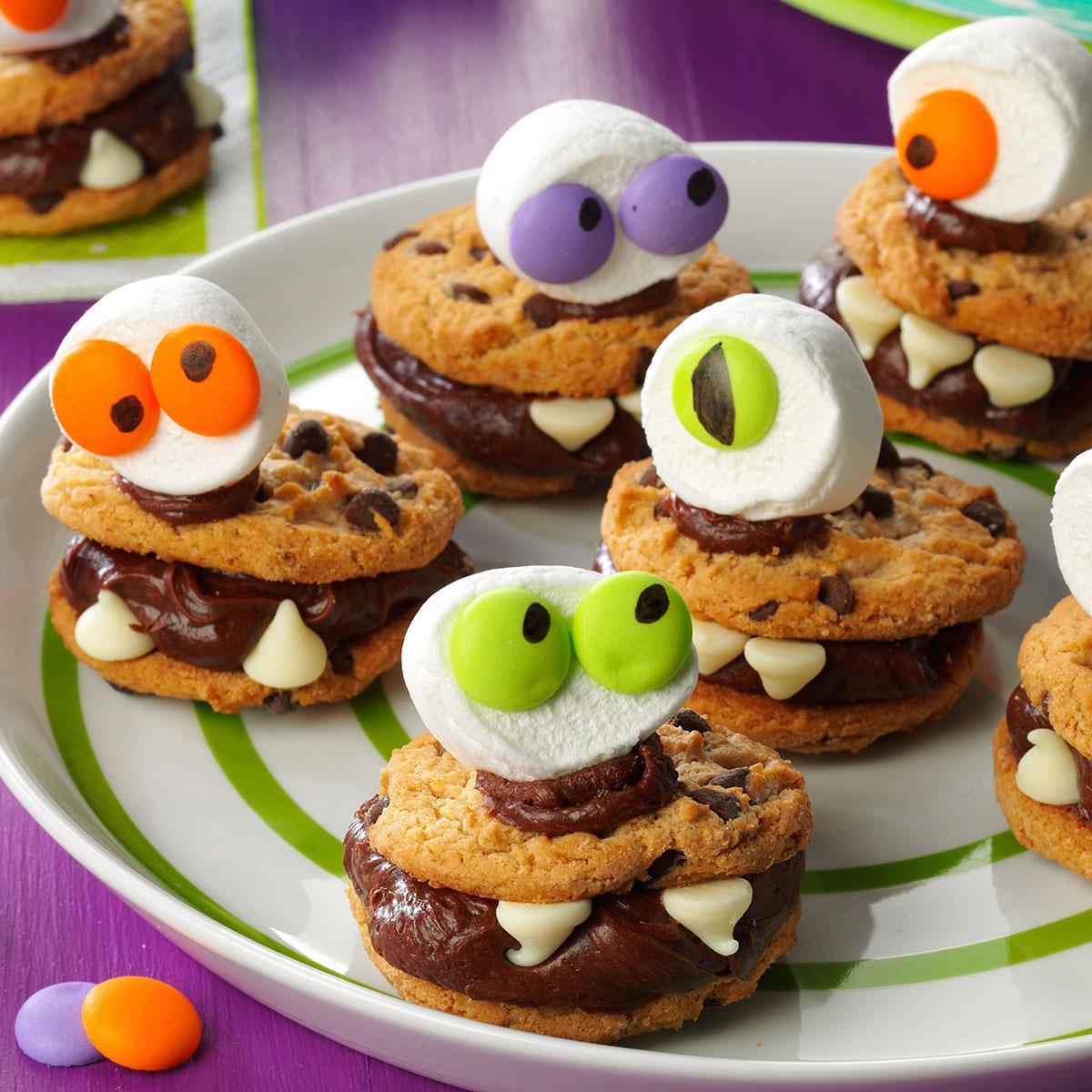 Halloween Monster Cookies  Halloween Monster Cookies Recipe