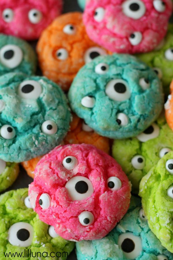 Halloween Monster Cookies  Halloween Recipes Monster Treats The 36th AVENUE