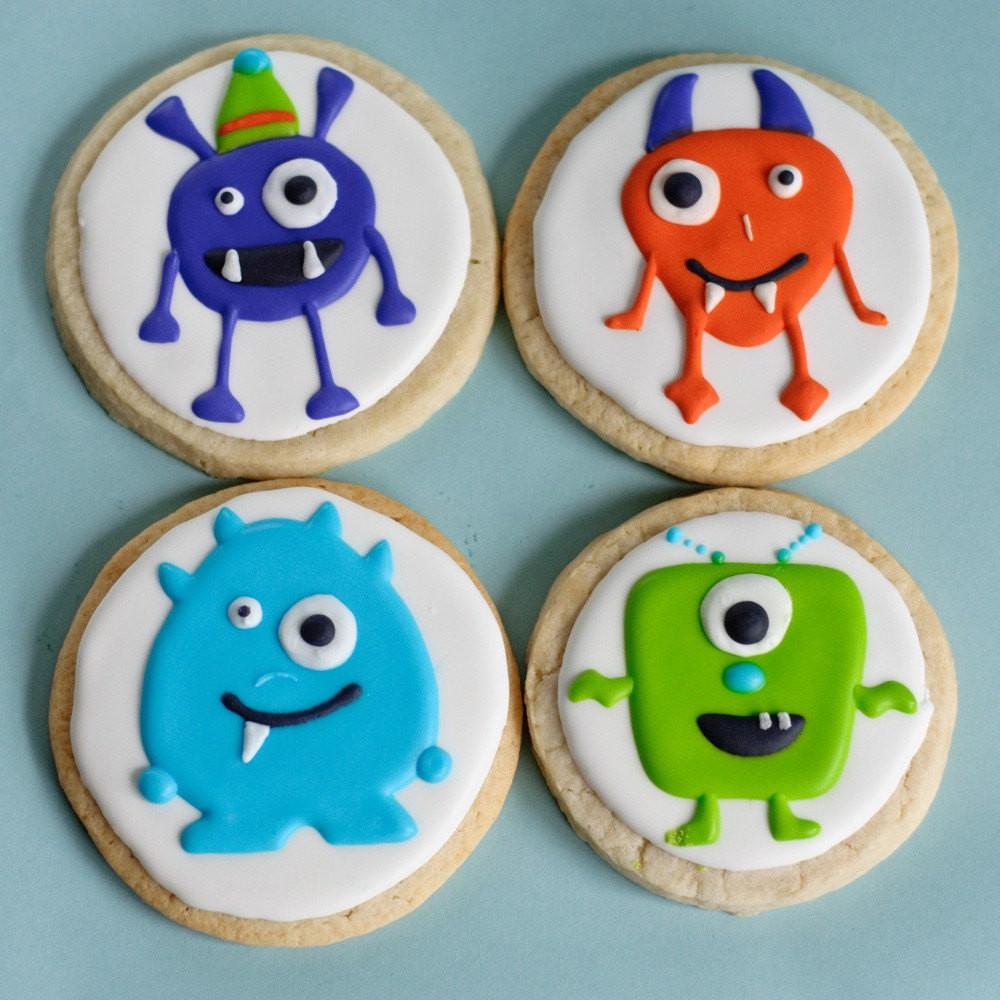 Halloween Monster Cookies  Monster Cookies Halloween Treats e Dozen