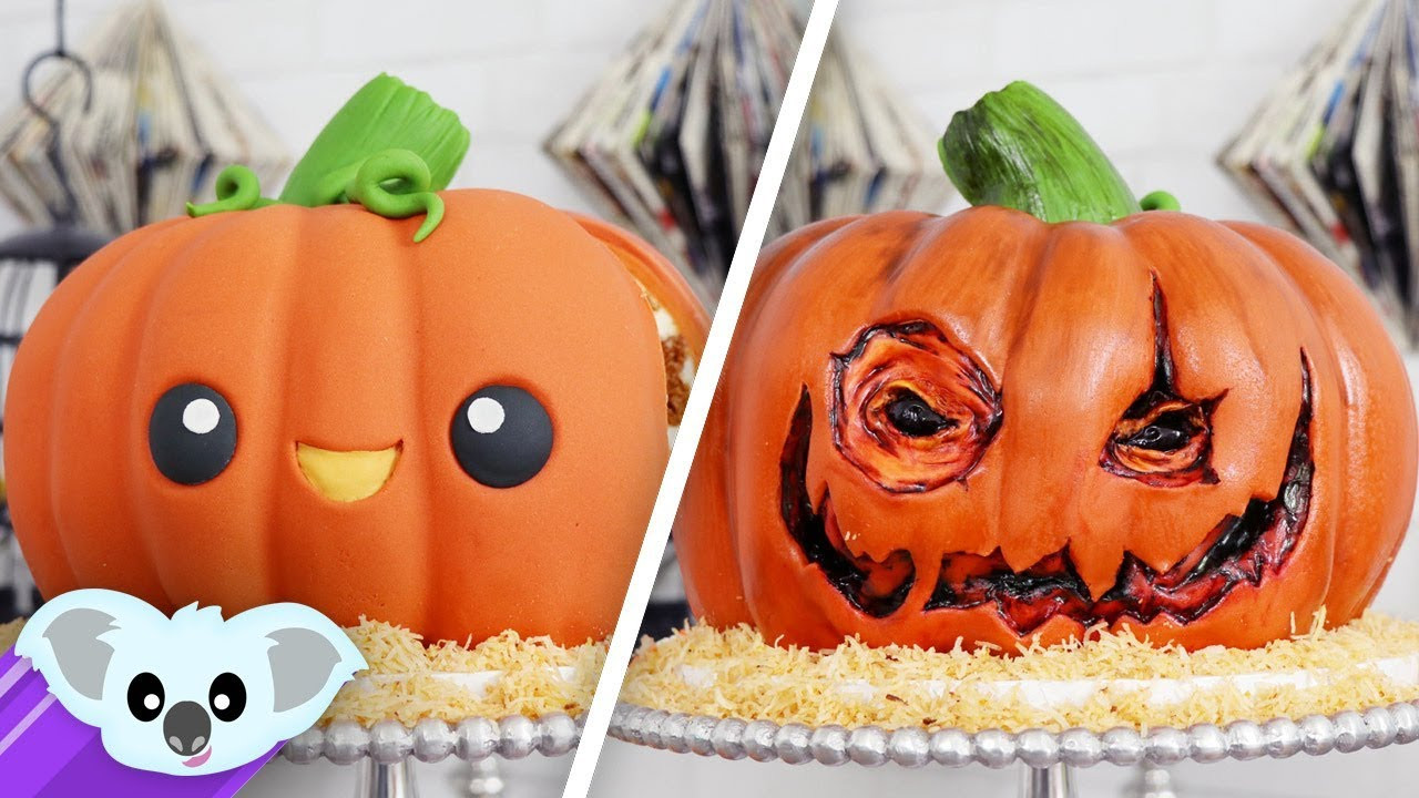 Halloween Pumpkin Cake  Halloween Pumpkin Surprise Cake