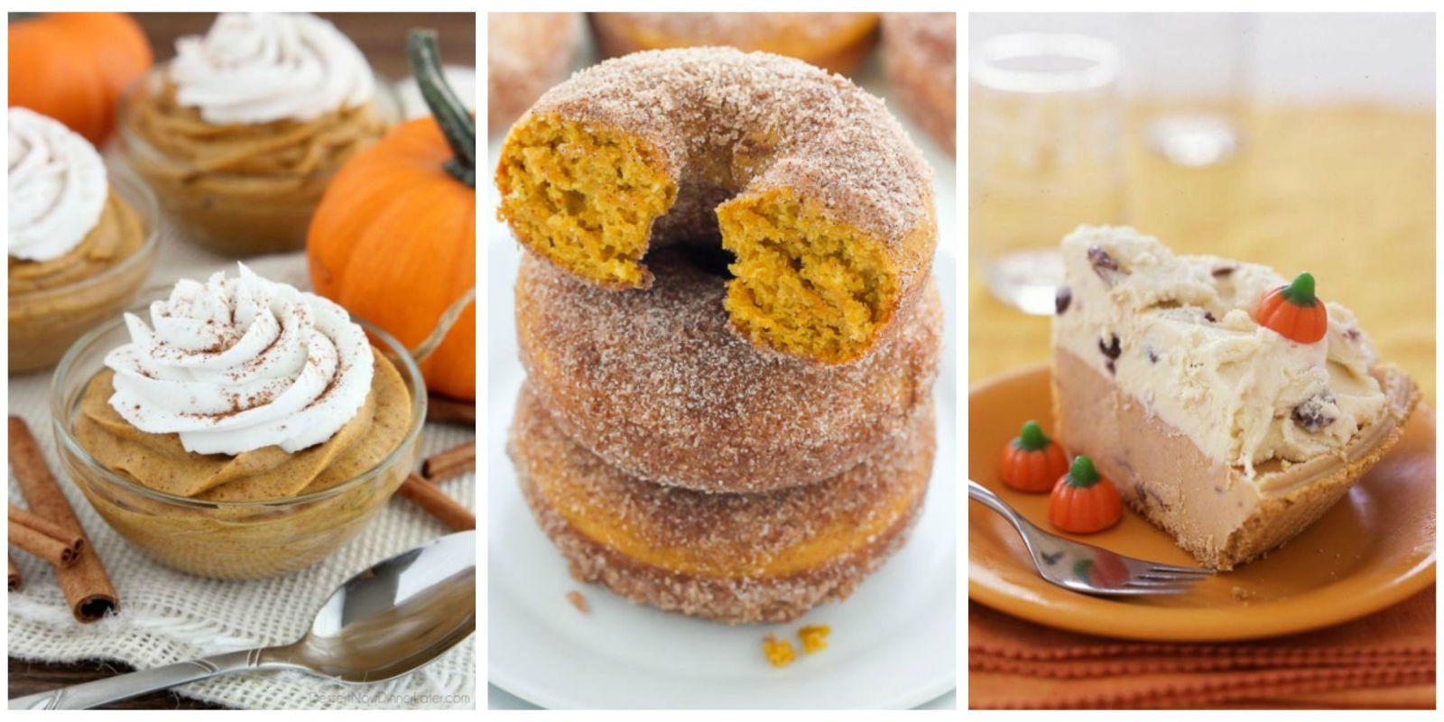 Halloween Pumpkin Recipes  50 Easy Pumpkin Desserts Best Sweet Pumpkin Recipes for