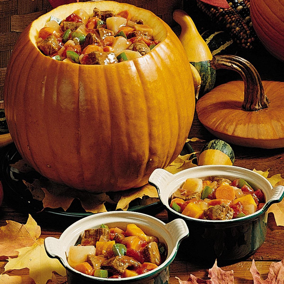 Halloween Pumpkin Recipes  Pumpkin Stew Recipe