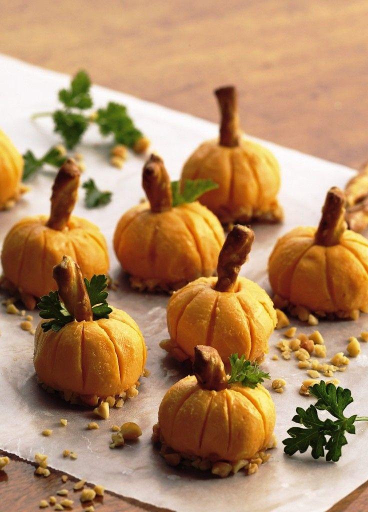 Halloween Pumpkin Recipes  Cheese Pumpkins Recipe for Halloween