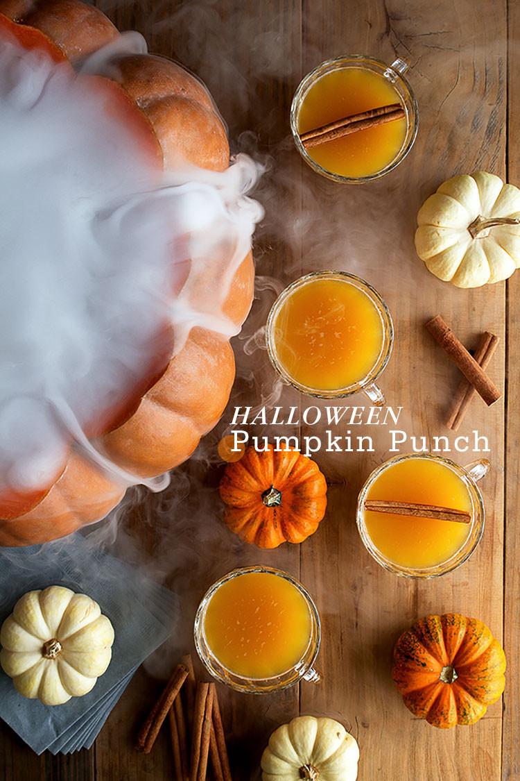 Halloween Pumpkin Recipes  Halloween Pumpkin Punch