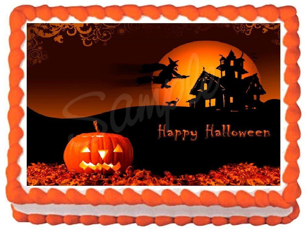 Halloween Sheet Cake  Halloween Sheet Cake Designs – Festival Collections