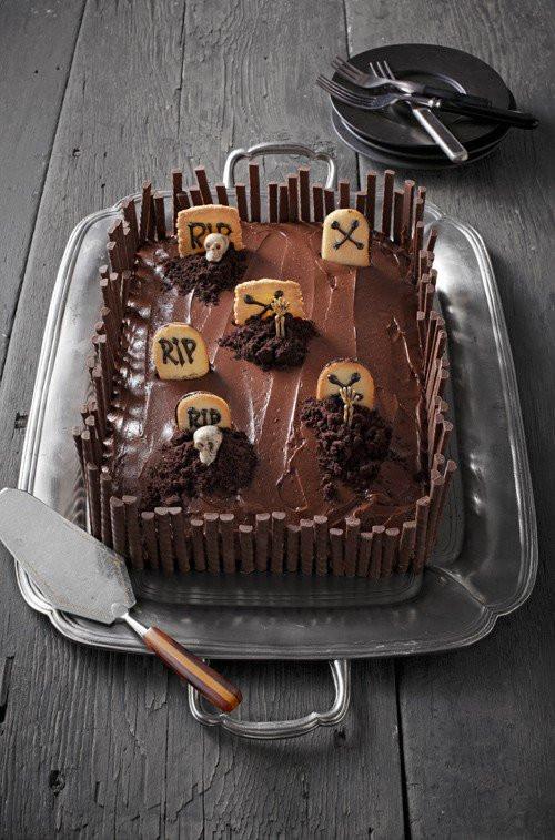 Halloween Sheet Cake  10 Ghoulishly Fun Sweets & Treats You Can Make to
