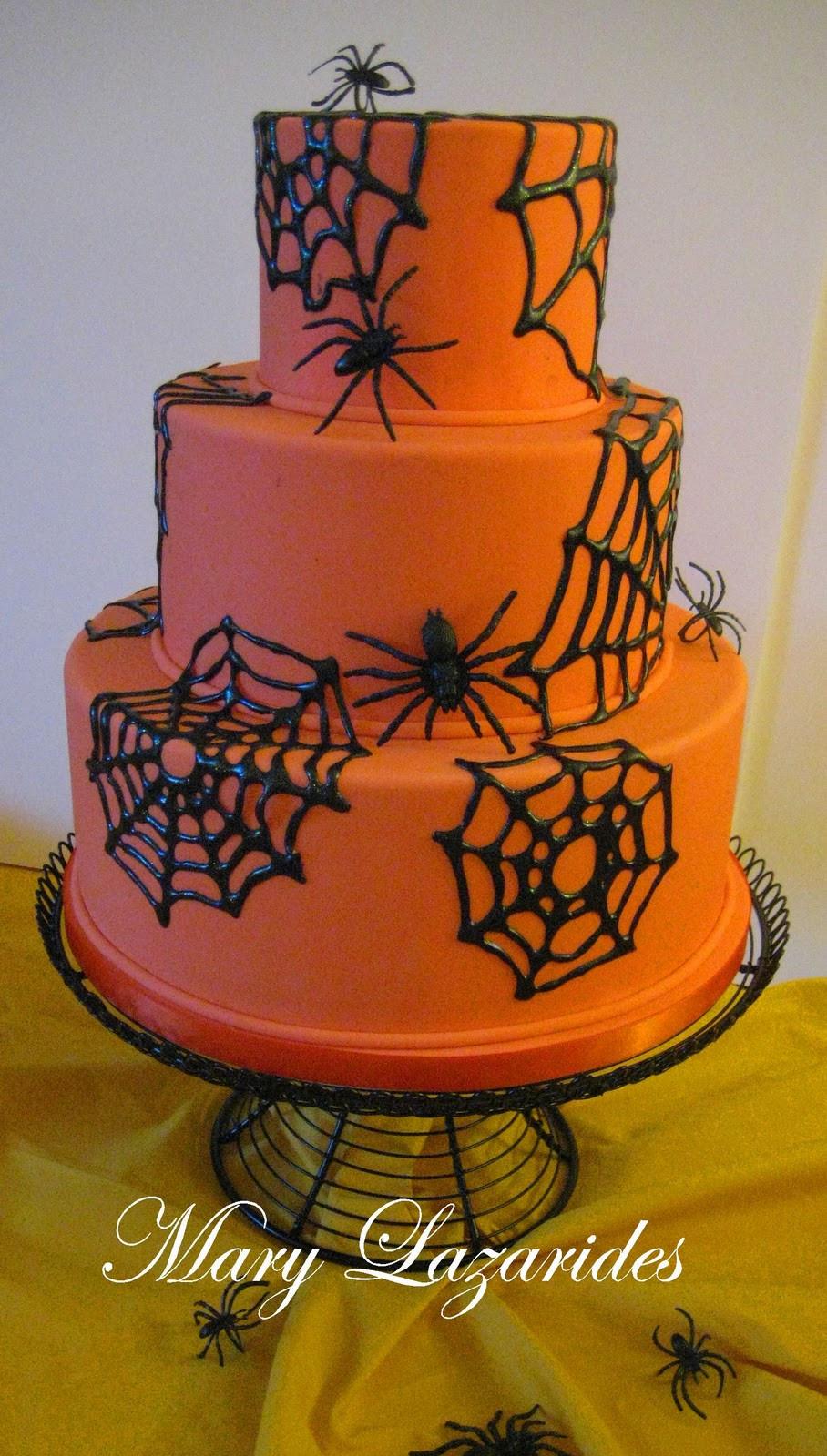 Halloween Sheet Cake  Pink Little Cake Halloween Series Day 25 SugarVeil