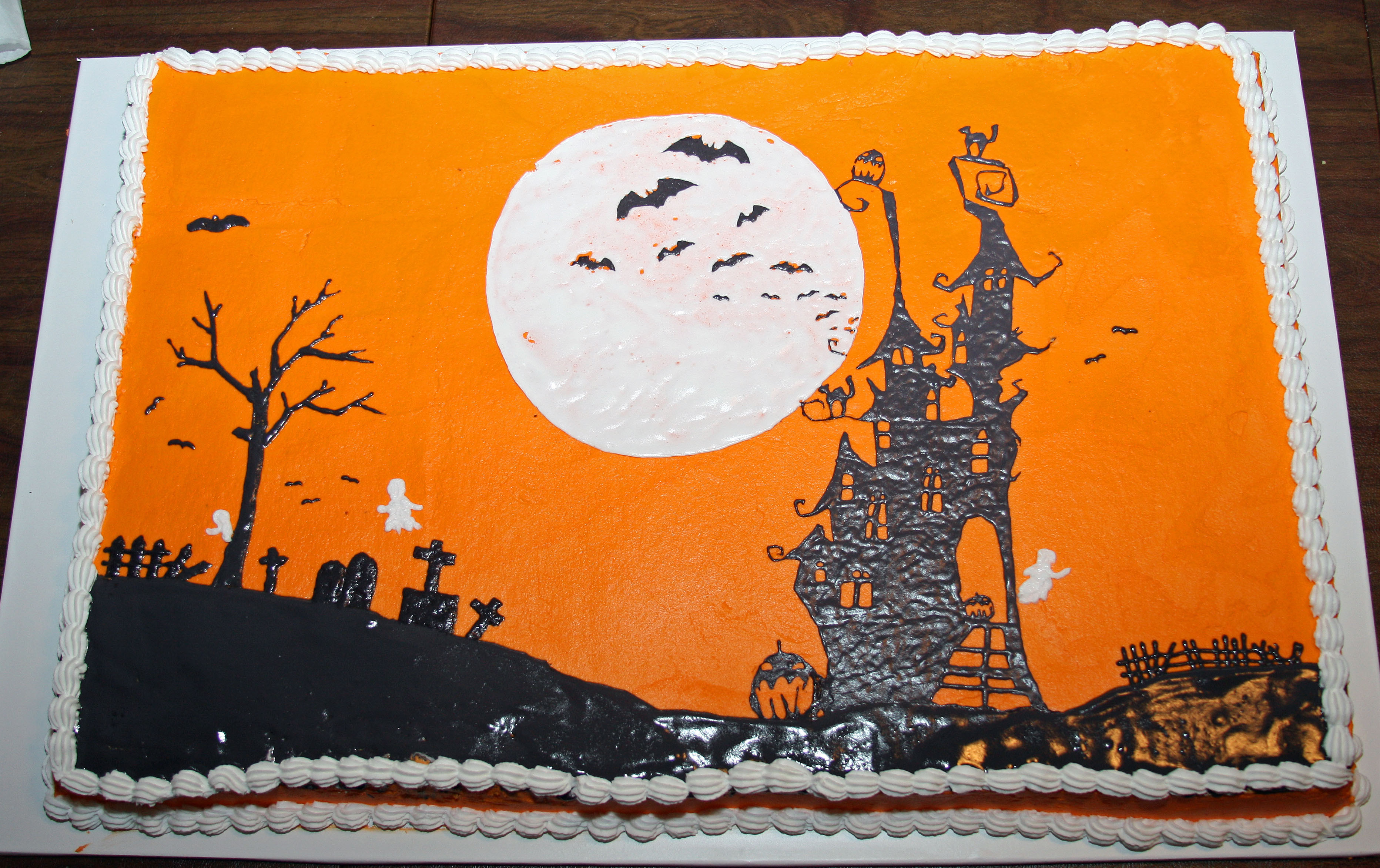 Halloween Sheet Cake  301 Moved Permanently