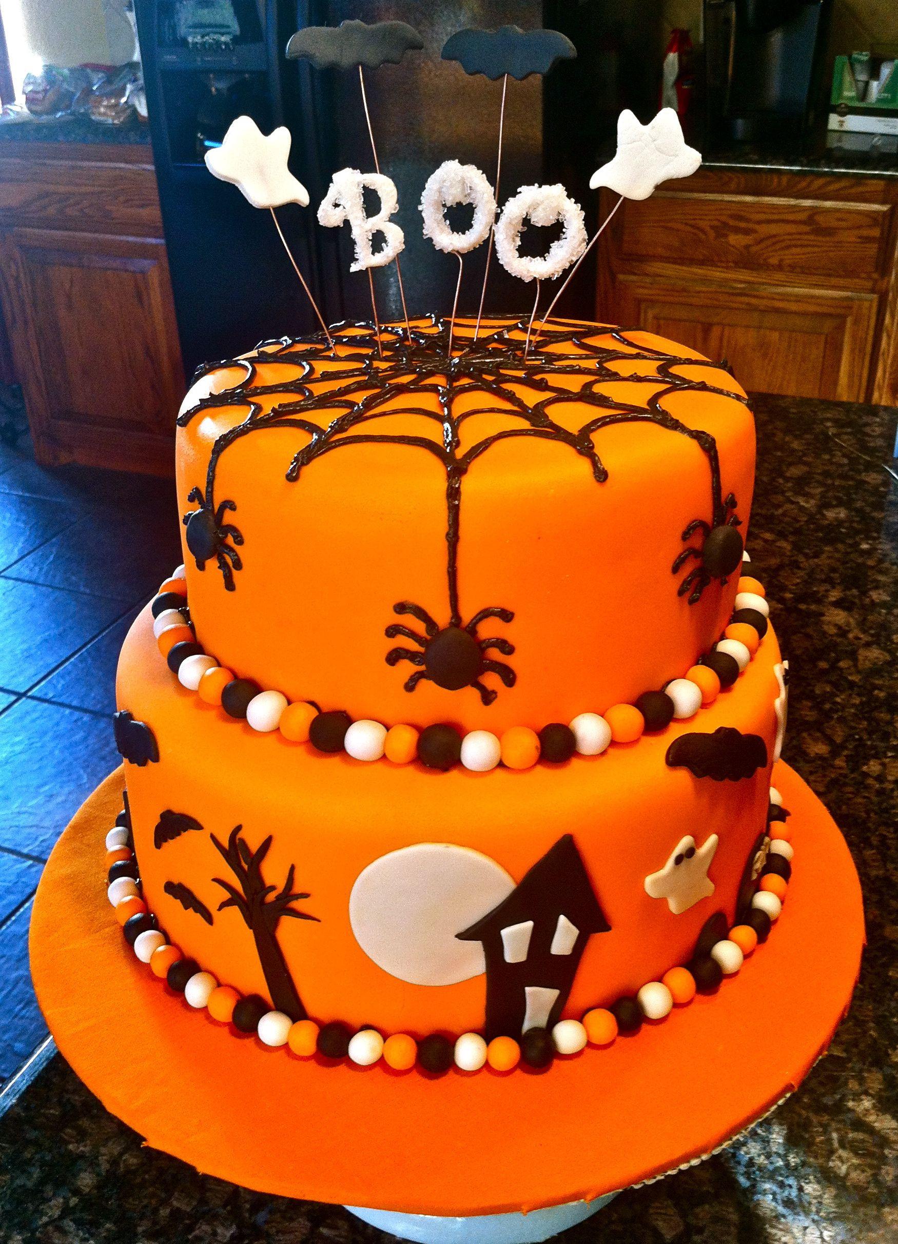 Halloween Sheet Cake  Halloween Cake Halloween Pinterest