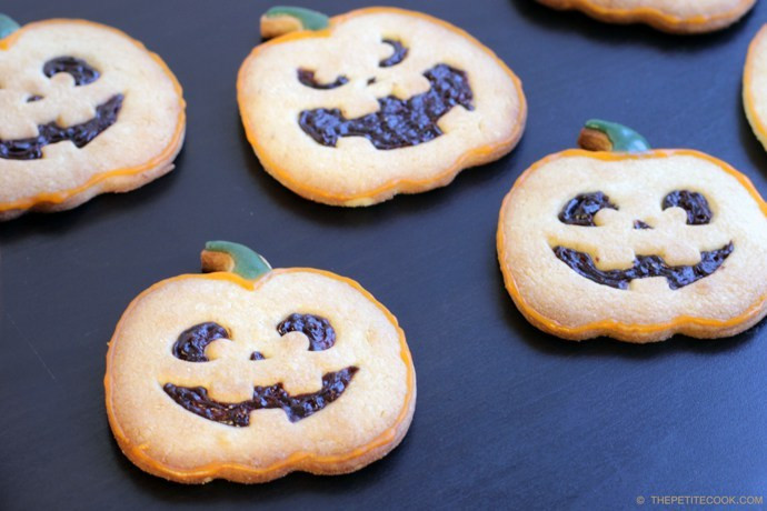 Halloween Shortbread Cookies  Handmade Halloween treats for children