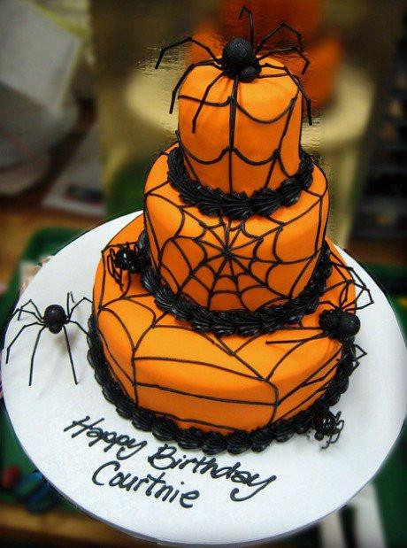 Halloween Spider Cakes  DIY Halloween Cake Ideas Party XYZ