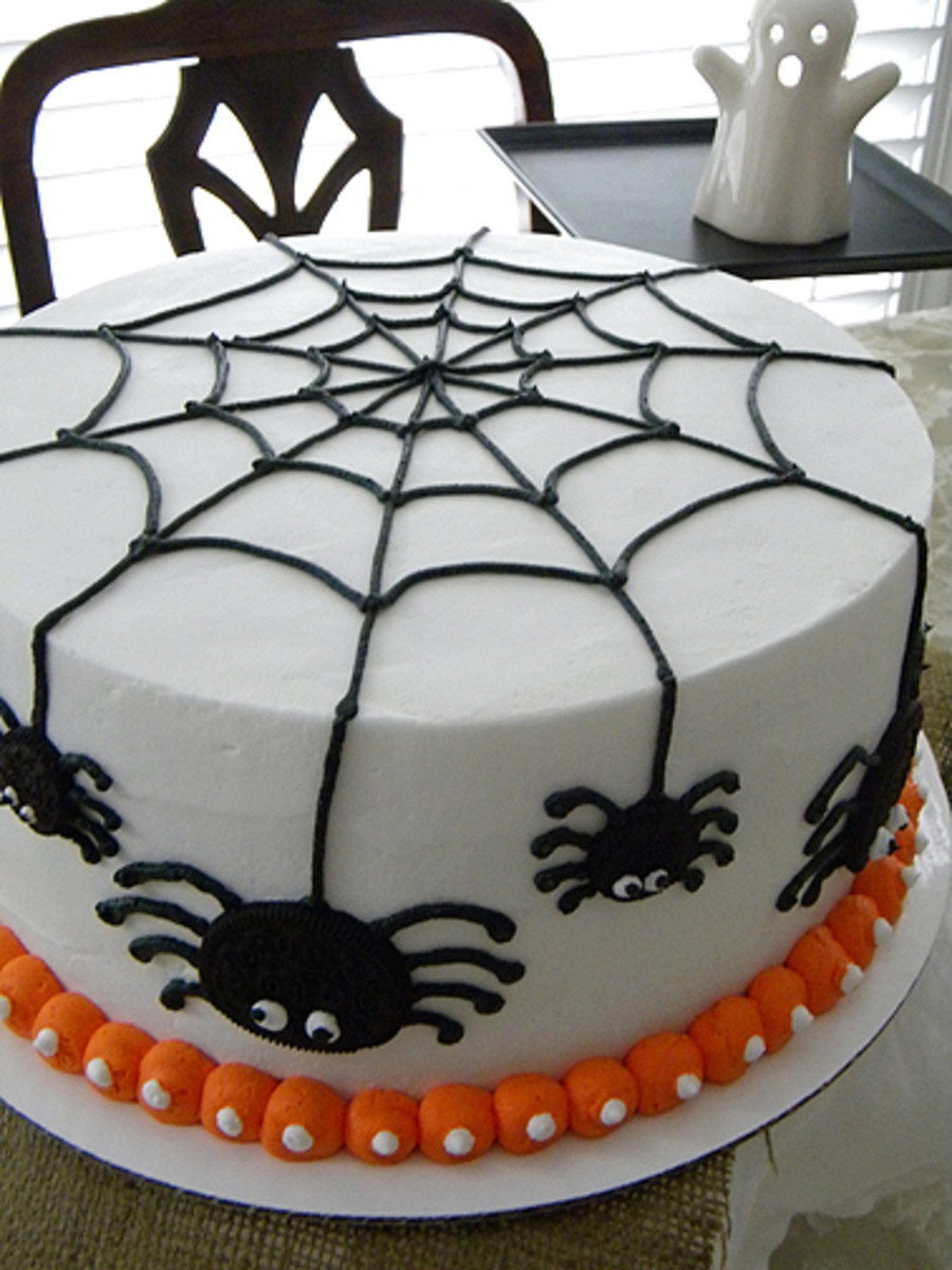 Halloween Spider Cakes  Spider Cake For Trey CakeCentral