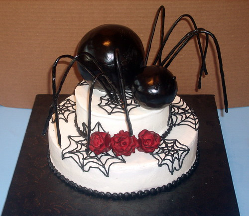 Halloween Spider Cakes  Birthday and Party Cakes Halloween Spider Cakes 2010