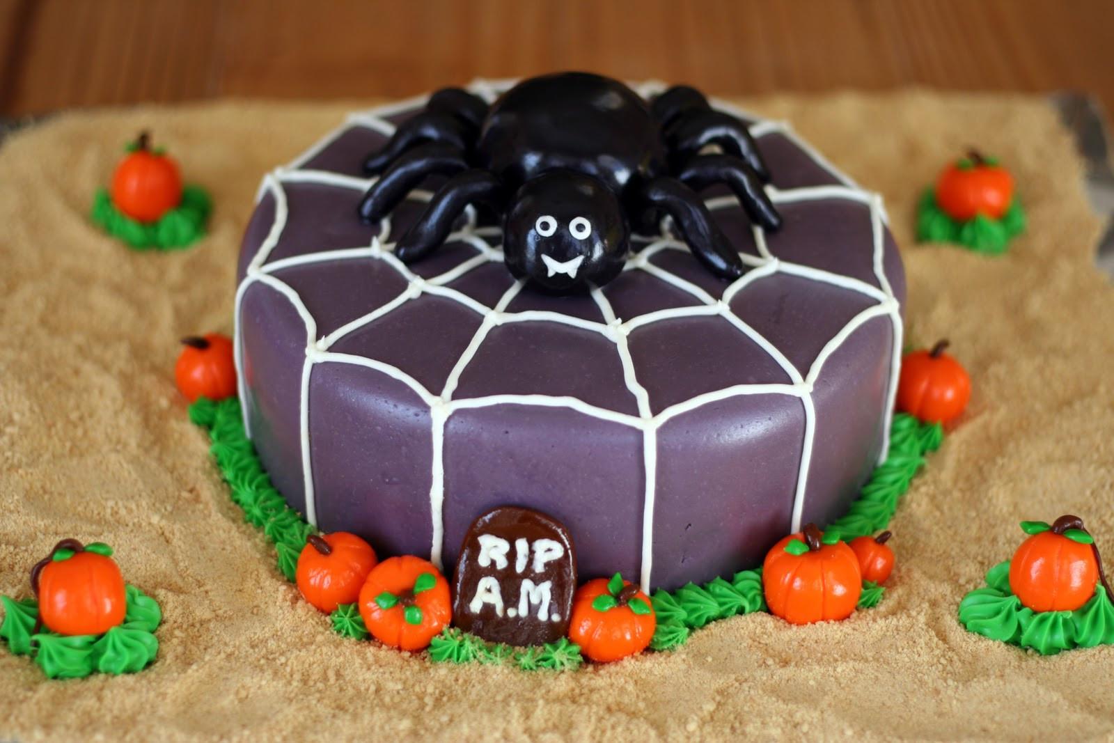 Halloween Spider Cakes  Cakes by Nicola Halloween Spider Cake