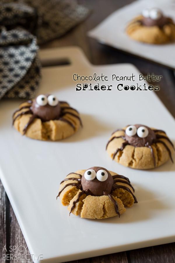 Halloween Spider Cookies  8 Spooky Spider Halloween Ideas