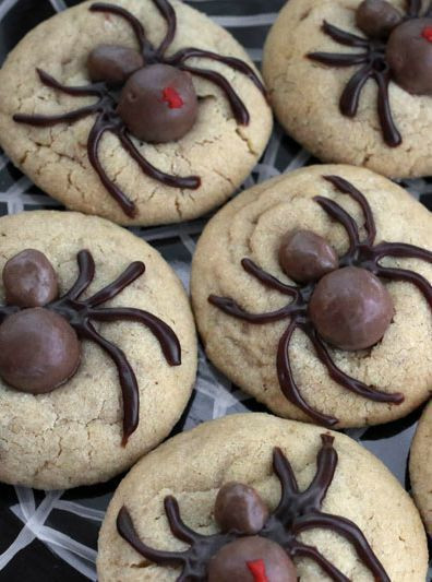 Halloween Spider Cookies  Halloween Spider Cookies Recipes