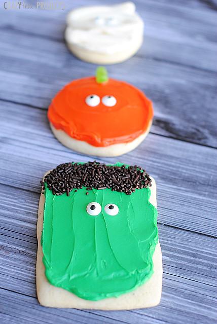 Halloween Sugar Cookies  Easy Halloween Sugar Cookies Pumpkins Mummies & More