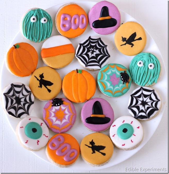 Halloween Sugar Cookies  Cute Halloween Sugar Cookies