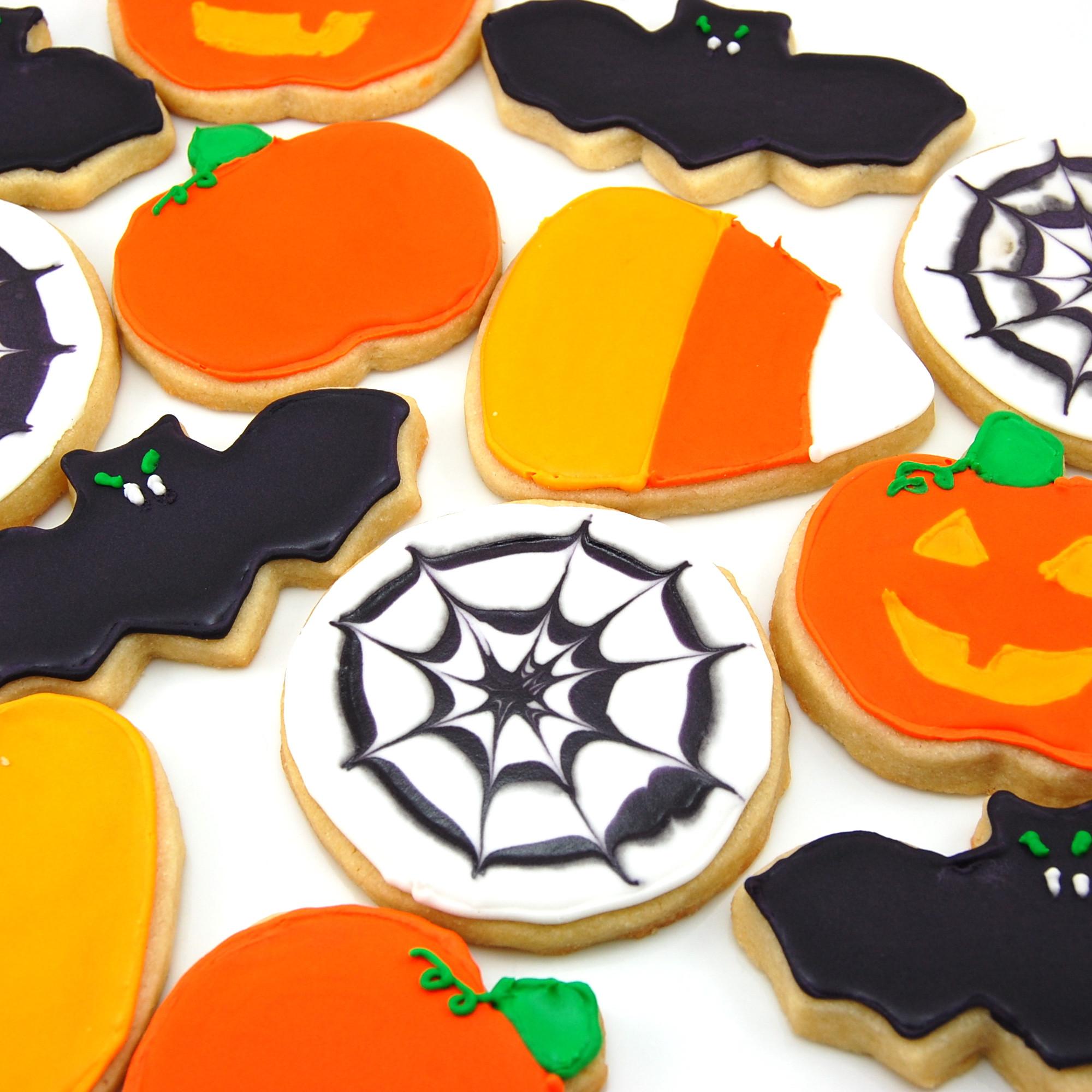 Halloween Sugar Cookies  Halloween Sugar Cookies